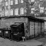 To obrazy, które zobaczyłam na tym właśnie podwórku spowodowały, że sobotnie przedpołudnie spędziłam w tej nieznanej mi zupełnie części miasta.